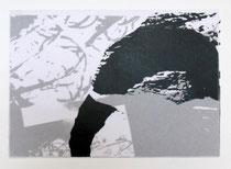 Trommelstaub, gewachstes Papier, 30 x 21cm, 2018