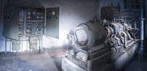 Verlassenes Bergwerk - Maschinenraum