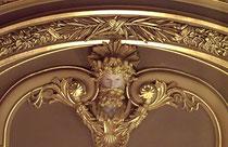 Dorure à l'or fin, salle des Amériques, Casino de Monte Carlo
