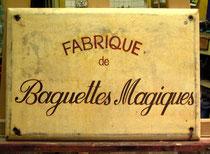 Plaque peinte pour Atelier Bonaparte Nice