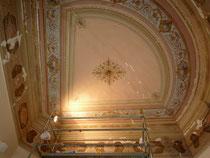 Plafond chambre, avant restauration à la chaux - Nice