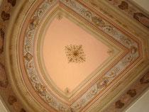 Plafond chambre restauré à la chaux- Nice