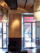 Patine murale pour le Restaurant l'F Nice