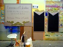 ensemble de panneaux pour boutique