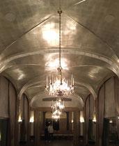 Plafond Feuille d aluminium Hotel La Reserve Beaulieu pour Marion caillaut