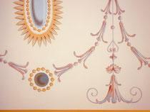 Décor sur plafond, Golfe de St tropez en collaboration avec entreprise Didier