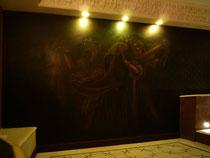 décor d'ambiance dans jaccuzzi. Réalisé pour Giustini Design - Nice