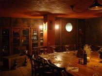fausse rouille pour bar à vin le BLOOM Nice. Réalisé pour projet  Giustini Design - Nice