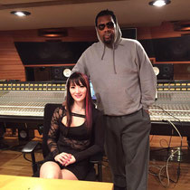 LiLi with Fatman Scoop (Famous recording artist)