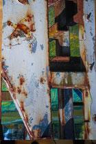 Einblicke (Ausschnitt), Fotolasur, 2015, 100x80