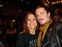 Meine Frau mit ihrem Sohn Georges