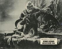 King Kong und die weisse Frau (King Kong) Erscheinungsjahr: 1933 / Deutsche EA Nachkrieg: 1952. Darsteller: Fay Wray, Robert Armstrong, Bruce Cabot