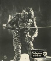 Das Ungeheuer ist unter uns (The Creature Walks Among Us) Erscheinungsjahr: 1956/ Deutsche EA: 1956. Darsteller: Jeff Morrow, Rex Reason
