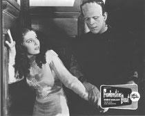 Frankensteins Braut(Bride of Frankenstein) Erscheinungsjahr: 1935 / Deutsche EA: In Deutschland nicht gestartet. Darsteller: Boris Karloff, Colin Clive, Elsa Lancester