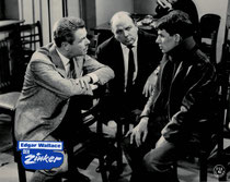 Erscheinungsjahr und deutsche EA: 1962: 1963: Der Zinker, Regie: Alfred Vohrer, Hauptdarsteller: Heinz Drache