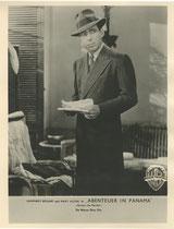 Abenteuer in Panama (Across the Pacific). Erscheinungsjahr: 1942 / Deutsche EA: 1946. Darsteller: Humphrey Bogart, Mary Astor