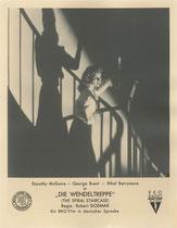 Die Wendeltreppe (The Spiral Staircase). Erscheinungsjahr: 1946 / Deutsche EA: 1948. Darsteller: Dorothy McGuire, George Brent