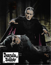 Draculas Rückkehr (Dracula Has Risen from the Grave) Erscheinungsjahr: 1968/ Deutsche EA: 1969. Darsteller: Christopher Lee, Rupert Davies, Veronica Carlson