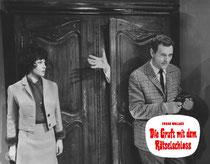 Erscheinungsjahr und deutsche EA: 1964: Die Gruft mit dem Rätselschloss, Regie: Franz Josef Gottlieb, Hauptdarsteller: Harald Leipnitz