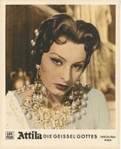 Attila, die Geissel Gottes (Attila) Erscheinungsjahr: 1954 / Deutsche EA 1955. Darsteller: Sophia Loren, Anthony Quinn