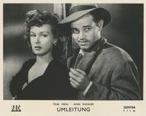 Umleitung (Detour). Erscheinungsjahr: 1945 / Deutsche EA: 1946. Darsteller: Tom Neal, Ann Savage