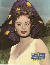 Eine Frau für schwache Stunden (La bella mugnaia) Erscheinungsjahr: 1955 / Deutsche EA 1956. Darsteller: Sophia Loren, Vittorio De Sica