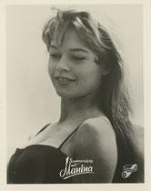 Sommernächte mit Manina (Manina la fille sans Voile ) Erscheinungsjahr: 1952 / Deutsche EA 1953. Darsteller:Brigitte Bardot, Jean F.Calvé