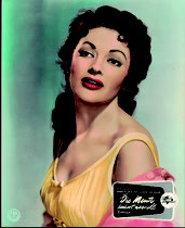 Die Meute lauert überall (Raw Edge) Erscheinungsjahr: 1956 / Deutsche EA 1956. Darsteller: Yvonne de Carlo, Rory Calhoun