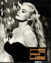 Das süße Leben (La dolce Vita) Erscheinungsjahr: 1960/ Deutsche EA 1960. Darsteller: Anita Ekberg, Marcello Mastroianni