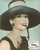 Frühstück bei Tiffany (Breakfast at Tiffany's) Erscheinungsjahr: 1961 / Deutsche EA 1962. Darsteller:Audrey Hepburn, George Peppard