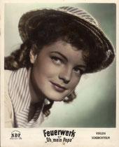 Feuerwerk. Erscheinungsjahr: 1954 / Deutsche EA 1954. Darsteller: Romy Schneider, Lilli Palmer
