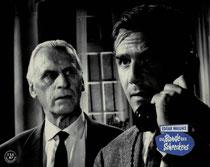 Erscheinungsjahr und deutsche EA: 1960: Die Bande des Schreckens, Regie: Harald Reinl, Hauptdarsteller: Joachim Fuchsberger