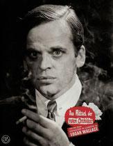 Erscheinungsjahr und deutsche EA: 1962: Das Rätsel der roten Orchidee, Regie: Helmuth Ashley, Hauptdarsteller: Christopher Lee