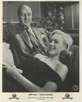 Asphalt Dschungel (The Asphalt Jungle). Erscheinungsjahr: 1950 / Deutsche EA: 1950. Darsteller: Sterling Hayden, Louis Calhern, Marilyn Monroe