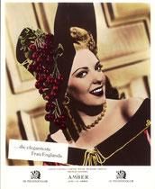 Amber (Forever Amber) Erscheinungsjahr: 1947/ Deutsche EA 1951. Darsteller: Linda Darnell, Cornel Wilde