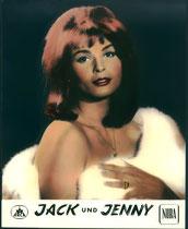 Jack und Jenny. Erscheinungsjahr: 1963 / Deutsche EA 1963. Darsteller: Senta Berger, Brett Halsey