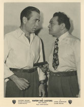 Hafen des Lasters (Key Largo). Erscheinungsjahr: 1948 / Deutsche EA: 1950. Darsteller: Humphrey Bogart, Edward G.Robinson
