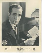Die Spur des Falken (The Maltese Falcon). Erscheinungsjahr: 1941 / Deutsche EA: 1946. Darsteller: Humphrey Bogart, Mary Astor