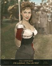 Die schönste Frau der Welt (La Donna più bella del mondo) Erscheinungsjahr: 1955 / Deutsche EA 1956. Darsteller: Gina Lollobrigida, Vittoria Gassman