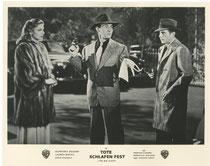 Tote schlafen fest (The Big Sleep). Erscheinungsjahr: 1946 / Deutsche EA: 1957. Darsteller: Humphrey Bogart, Lauren Bacall