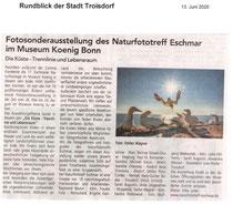 Rundblick der Stadt Troisdorf 13. Juni 2020