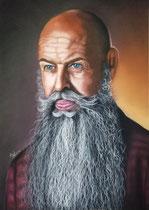 """""""Tom"""" 50 x 70 cm Pastellkreide auf Pastelmat"""