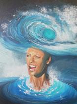 """""""Mind Storm"""", Acryl auf Leinwand 80 x 60 cm"""