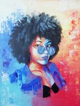 """""""Michelle"""", 80 x 60 cm, VERKAUFT!"""
