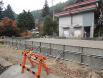 10月31日 基礎工事 コンクリート打設