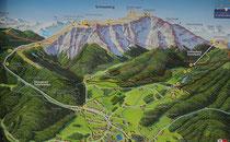 Karte vom Schneeberg - 111