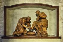 Stift Heiligenkreuz - 17.November 2014_043 Christi, wusch am Tag vor seinem Leiden den Aposteln die Füße.