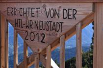 Rax - 06.Oktober 2012 - Vilma Haid Aussicht wurde neu von der HTL-WR Neustadt errichtet