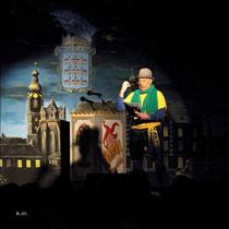 NK Faschingssitzung - 09.Jänner 2015 - Nr.042 - Der Buagamasta Mollram - Manfred Pürzel
