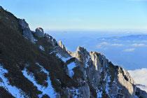 Schneeberg - 25.Oktober 2014_148 - ...beobachten Gipfelstürmer...